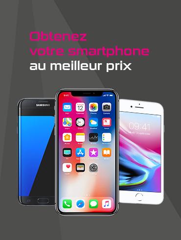 Obtenez votre smartphone