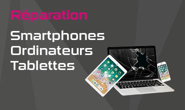 Réparation smartphones etc